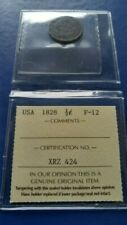 1828 US Classic Head  Half Cent Coin ICCS F-12