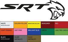 "SRT Hellcat Dodge Vinyl Sticker Decal 8.5"" Car Logo Racing"