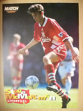 STEVE McMANAMAN at Liverpool FC (100% Genuine Hand Signed Press Cutting)