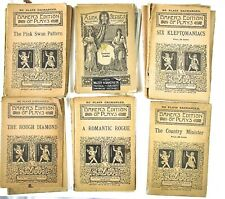 1899-1910 Twenty-Four Diff.Titles of Baker's Edition of Plays And Three Catalogs
