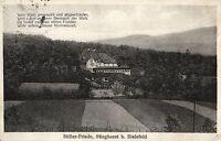 15612/ Foto AK, Berghotel Stieghorst b. Bielefeld, 1929