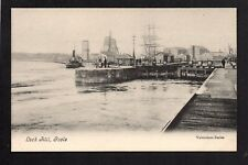 Goole - Lock Hill - printed postcard