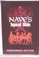 NAVE S TOPICAL BIBLE Orville J Nave Moody Press 1990 Inglese Biblica Bibbia di e