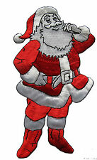 """3174L 6"""" Embroidery Iron On Santa Claus Applique Patch"""