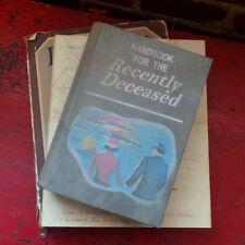 BEETLEJUICE HANDBOOK FOR THE RECENTLY DECEASED PROP 1:1 movie book replica decor