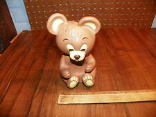 Vintage STUDIO GIRL Squeeze Toy Bear Bar Soap Holder                           ^