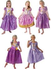 Disney Rapunzel Prinzessin Kinder Karneval Fasching Kostüm 104-128