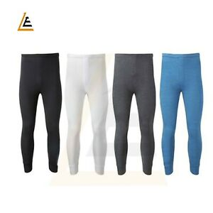 Mens Thermal Long Johns Warm Underwear Base layer Trousers S M L XL XXL Thermals