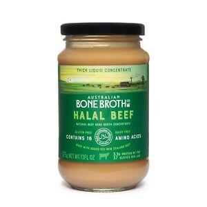 Halal Beef Bone Broth Concentrate 375 gram jar Grass Fed