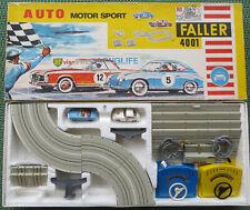 Faller 4001 -- Komplettpackung  mit Mercedes 230 und Porsche 911