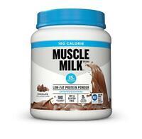 Muscle Milk 100 Calorie Protein Powder, Chocolate, 15g Protein, 1.65 Pound