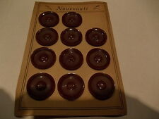 vintage  mercerie  lot de 11 boutons anciens