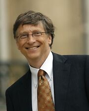 "Bill Gates 10"" x 8"" Photograph"