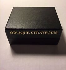 NEW Oblique Strategies by Brian Eno -Read why you should buy from me !!