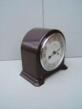 Smiths Enfield Bakelite  mantel clock working lubricated original  pen key  B1