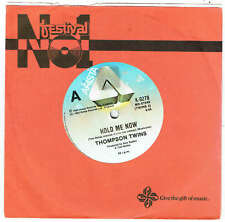 "THOMPSON TWINS - HOLD ME NOW - 7"" 45 VINYL RECORD - 1983"