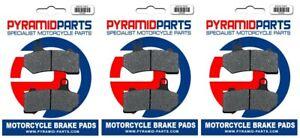 Front & Rear Brake Pads (Full set) for Harley Davidson FLHR Road King 08-12