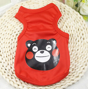 Small Dog Vest Cat Shirt Puppy Clothes Pet Clothing for chihuahua teacup yorkie