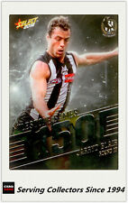 2018 AFL Footy Stars Trading Card Milestones Subset MG17 J.Blair (Coll'wood)