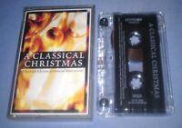 A CLASSICAL CHRISTMAS classical cassette album T6543