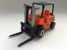 Matchbox Superfast No.15 Fork Lift Hi-Lift Truck 1972 England orange