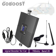 Goboost 4G LTE 700mhz Band28 Phone Signal Booster for Car Truck RV repeater