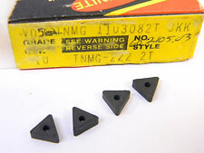 NEW SURPLUS 10PCS. VALENITE  TNMG 222-2T  GRADE: V05  CARBIDE INSERTS