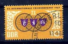 """GERMANY - GERMANIA - DDR - 1967 - 20a  """"International Bicycle Peace Race"""". E2012"""
