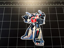 Transformers G1 Wheeljack box art vinyl decal sticker Autobot toy 1980's 80s