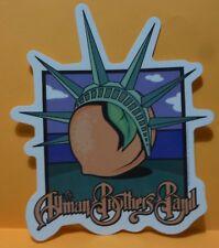 Allman Brothers Band Licensed New York Peach Sticker rare 2005 statue of liberty