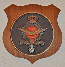 Royal Netherlands Air Force plaque shield RNLAF Koninklijke Luchtmacht (KLu)
