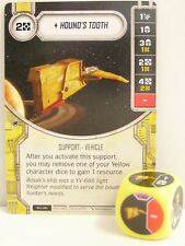 Star Wars Destiny - #020 Hound's Tooth + Dice - yellow - Empire at War