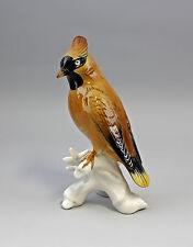 Vogel Porzellanfigur Seidenschwanz Ens H20,5cm 9941454