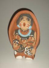 Pueblo Jemez Native American Singing Mother Kokopelli Storyteller Signed T Sando