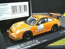 PORSCHE 911 997 GT3 Cup Jägermeister IMSA 2008 #97 Rivera Minichamps RAR 1:43