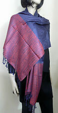 Unbranded Cotton Blend Paisley Women's Scarves and Shawls