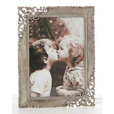 Vintage Style Ornate Rustic Metal Lace Photo Frame 5 x 7 New Boxed 10157