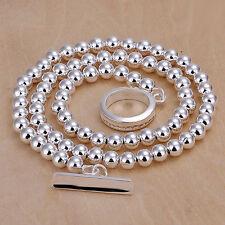 SILBER KETTE COLLIER Halskette 925 Sterling Silber pl.