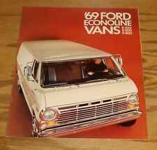 Original 1969 Ford Econoline Van Sales Brochure 69 E-100 E-200 E-300