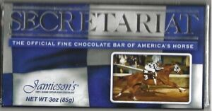 "SECRETARIAT - 30th Anniversary Jamieson's Chocolate ""Preakness Stakes"" Candy Bar"