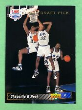 1992-93 Upper Deck NBA Draft Shaquille O'Neal ROOKIE RC #1