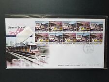 Malaysia 1997 Light Rail Transit Booklet Stamp FDC NH