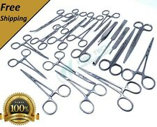 52 Pcs Premium Grade General Spay Pack Veterinary Surgical Dental Instrument Kit