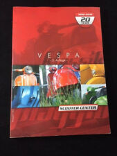 VESPA SCOOTER CENTER REFERENCE & PARTS CATALOG 1992-2002, FROM GERMANY