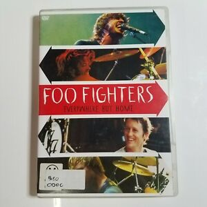 Foo Fighters: Everywhere But Home | Live Music DVD | Dave Grohl | Pre-owned