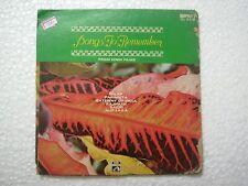 SONGS TO REMEMBER GEETA DUTT MOHD RAFI  MANNA DEY LATA  rare EP RECORD 1975 EX