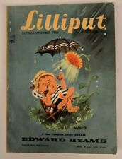 Lilliput UK Magazine October November 1953 Vol 33 No 4 #196 Cream Edward Hyams