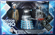 DR WHO ENEMIES OF THE 1ST FIRST DOCTOR ACTION FIGURES COLLECTORS SET NEW