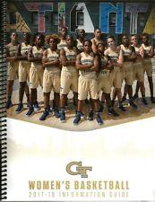 2017-18 Georgia Tech Yellow Jackets Women's Basketball Media Guide