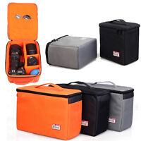 Thick Padded DSLR SLR Camera Lens Bag Inner Dividers Insert Camera Lens Case Bag